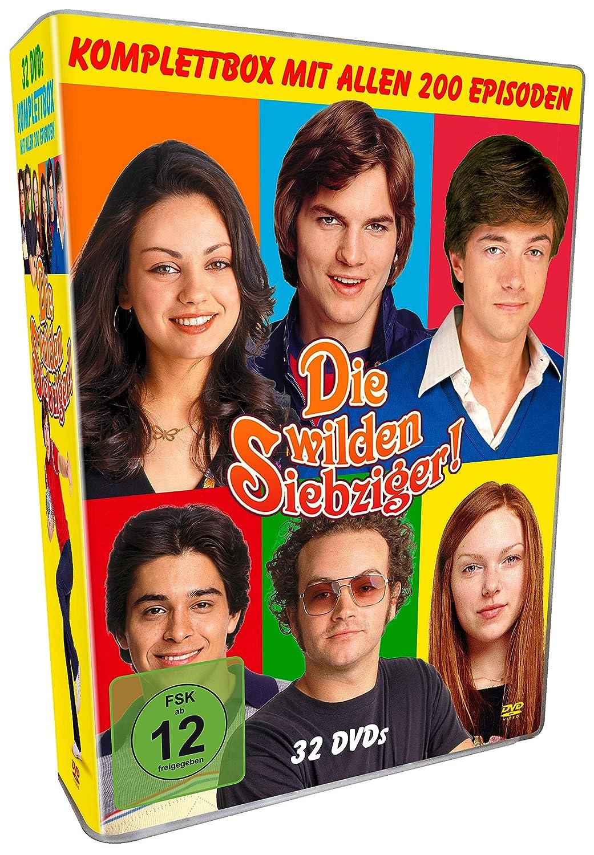 Die wilden Siebziger! - Komplettbox 32 Discs DVD Alemania ...