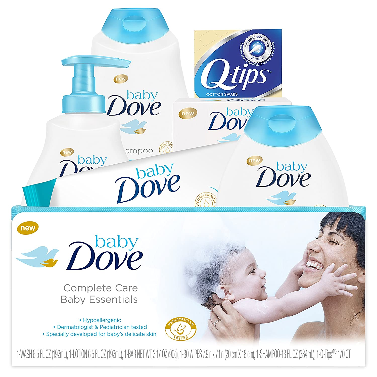 Baby Dove Baby Essentials, Gift Set, 4 pc Baby Dove Baby Essentials UNDA7