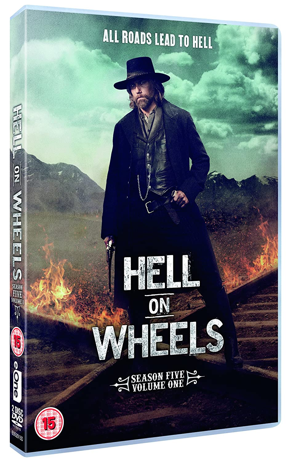 Hell on Wheels - Season 5: Volume 1 [DVD]: Amazon.co.uk: Anson Mount, Colm  Meaney, Common, Christopher Heyderdahl, Jake Weber, Robin McLeavy: DVD &  Blu-ray