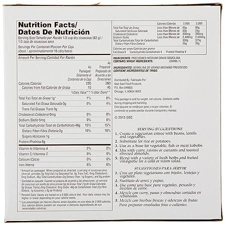 Amazon.com: Near East Couscous Moroccan Style Pasta, Original, Large Box 16 Servings: Prime Pantry