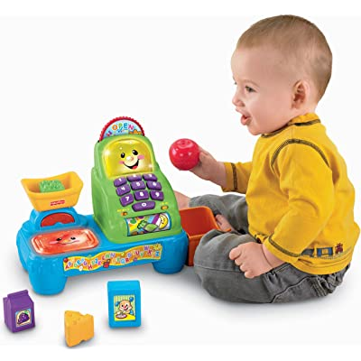 Fisher-Price Laugh & Learn Magic Scan Market: Toys & Games