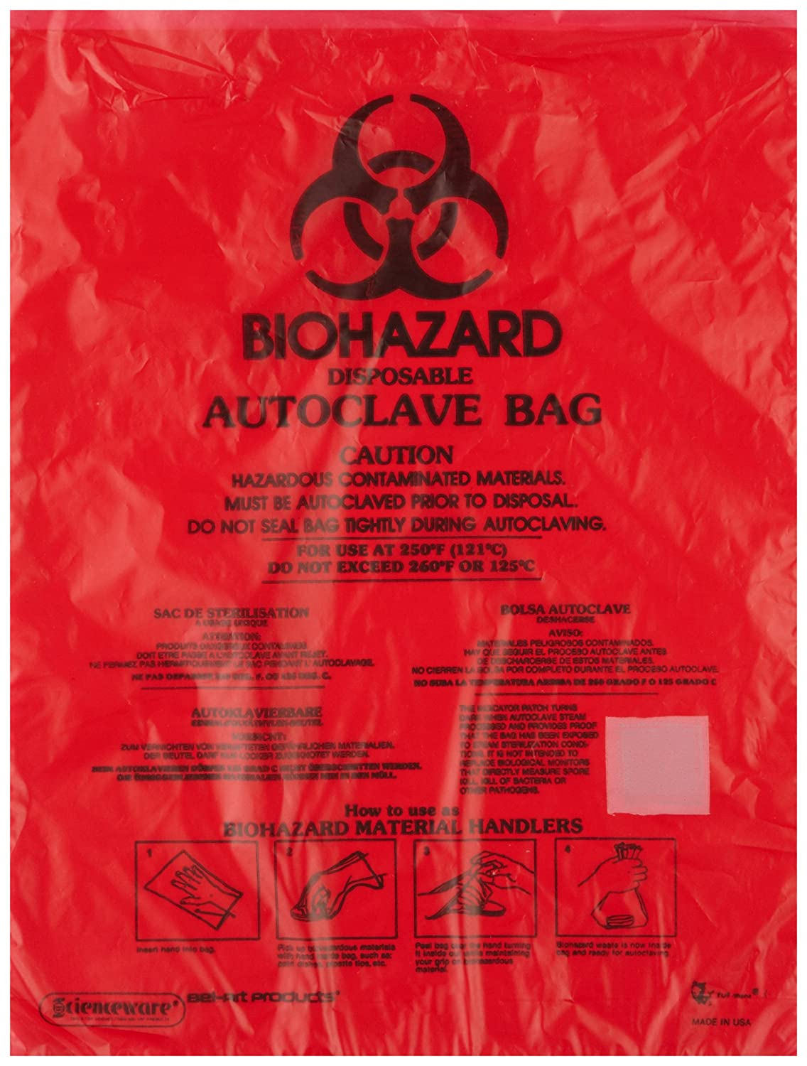 Amazon.com: bel-art f13166 – 0001 – bench-top Biohazard ...