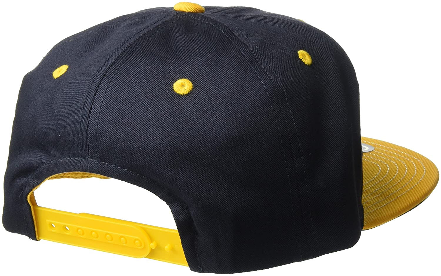 NCAA West Virginia Mountaineers Youth Outerstuff Retro Bar Script Flat Brim Snapback Hat Team Color Youth One Size