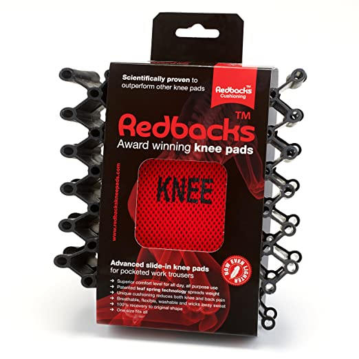 Redbacks Advanced Slide-in Knee Pads - Suitable for all Workwear Pants that have knee pad pockets (these knee pads do not have straps) - - Amazon.com