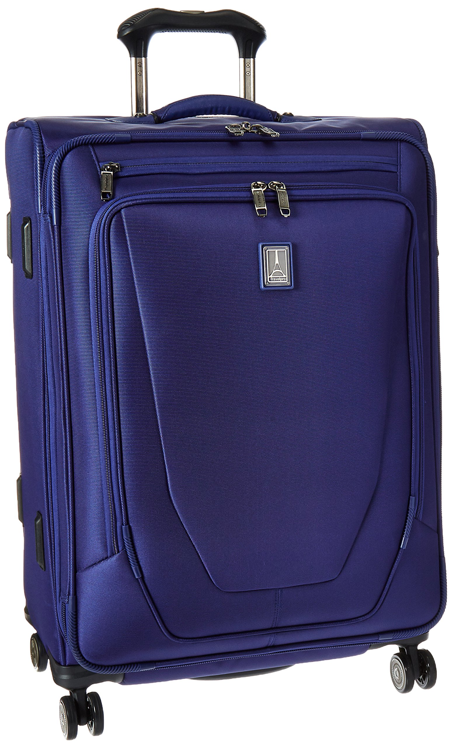 Travelpro Crew 11 Expandable Spinner Suiter Suitcase, Indigo