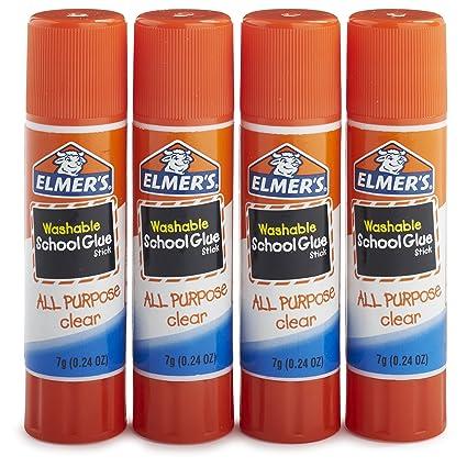 amazon com elmer s all purpose school glue sticks clear washable
