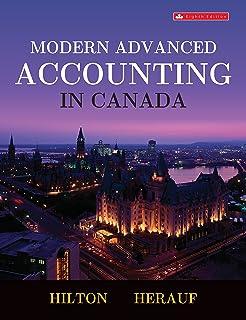 Modern advanced accounting in canada: murray hilton, darrell.