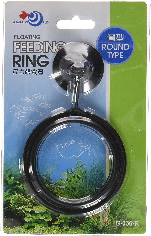 Fish Feeding ROUND Aquarium Fish Tank Ring Feeder Floating Food Circle 7.5cm