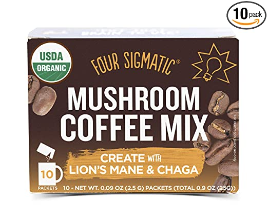 Four Sigmatic Mushroom Coffee Review