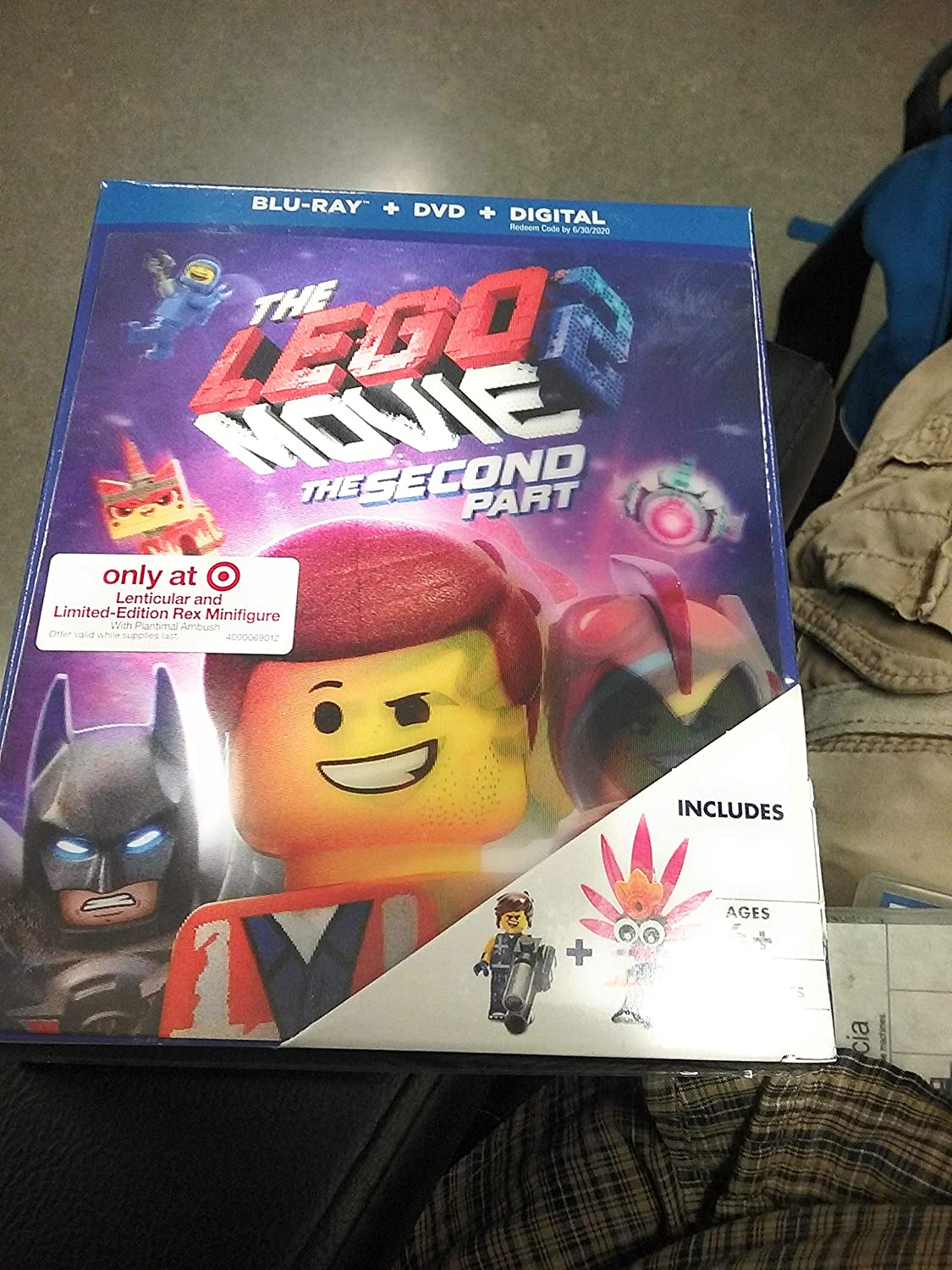 Amazon Com Lego Movie 2 The Second Part Target Limited Edition Movies Tv