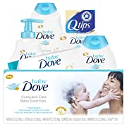 Baby Dove Complete Care Bath Time Essentials, Gift Set, 6 pc