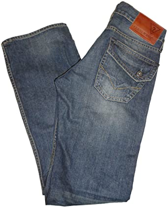 Amazon.com: Para hombre GUESS Falcon Slim Boot sol lavar ...