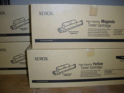 Genuine Xerox Standard-Capacity Toner Cartridge 106R01216 New Yellow