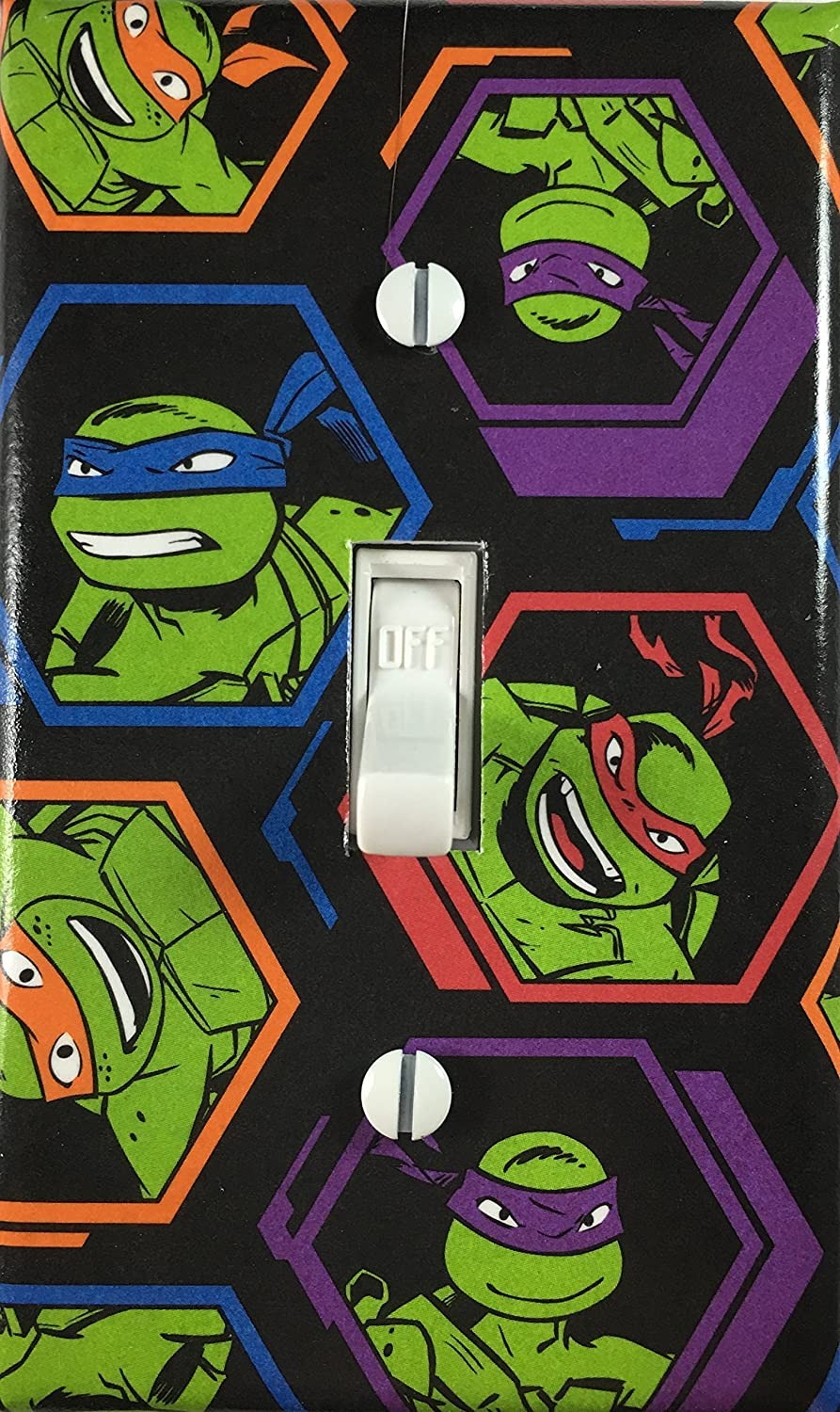 Teenage Mutant Ninja Turtles Decorative Light Switch Cover Wall Plate