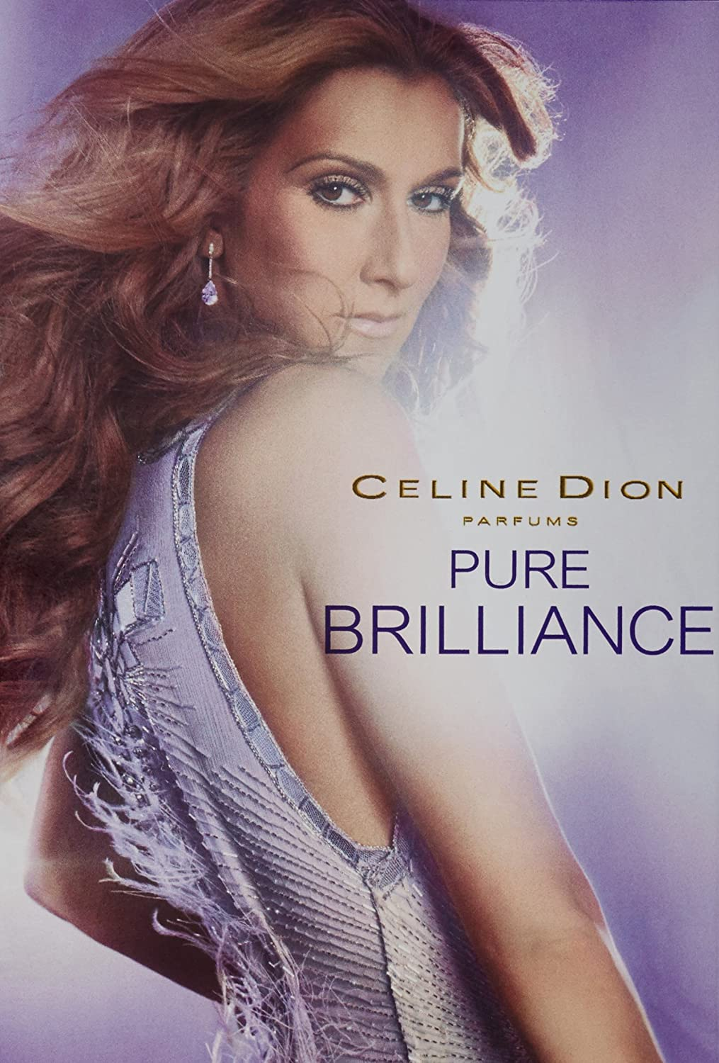 Pure Brilliance Eau-De-Toilette Spray by Celine Dion, 1.7 Fluid Ounce