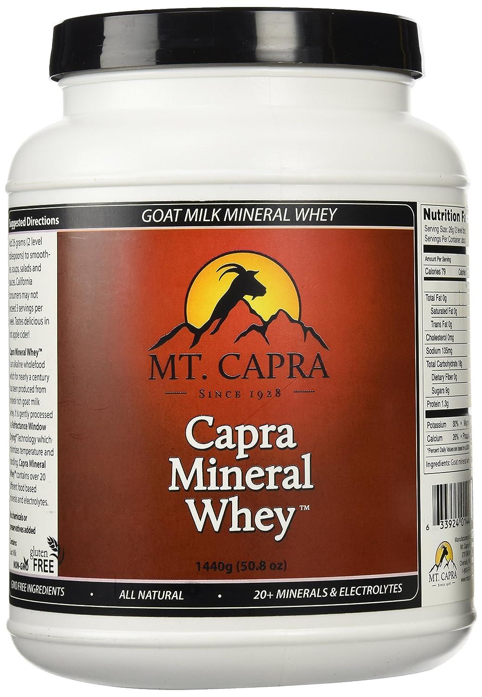 Mt. Capra 【並行輸入品】 カプラ(ヤギ)ミネラルホエイ、 50.8オンス (1440 g) B000YQ88ZY