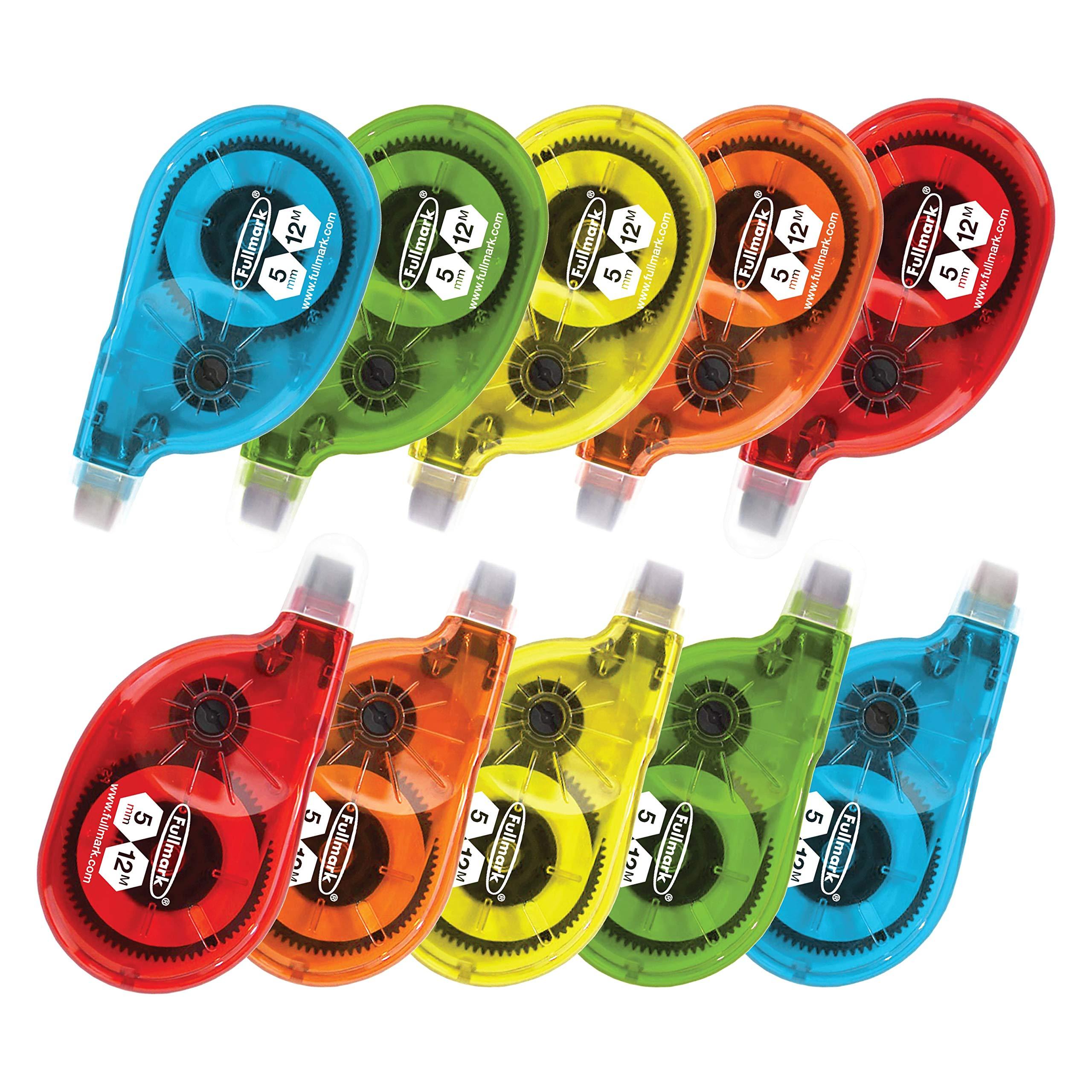 Fullmark Model P Correction Tape, 0.2'' X 472'' each, 10-pack by Fullmark (Image #1)