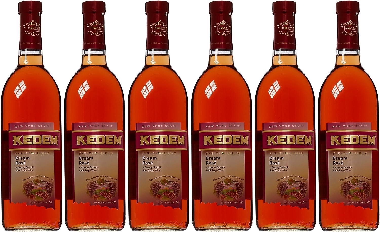 Kedem Cream Rose Wine 75 Cl Kosher Case Of 6 Amazon Co Uk Grocery