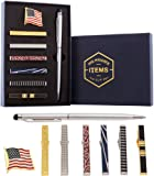 Amazon Price History for:Tie Bar Clip Set for Men -[6 Pc]- Pinch / Hold Classic Regular Ties - Gift Box