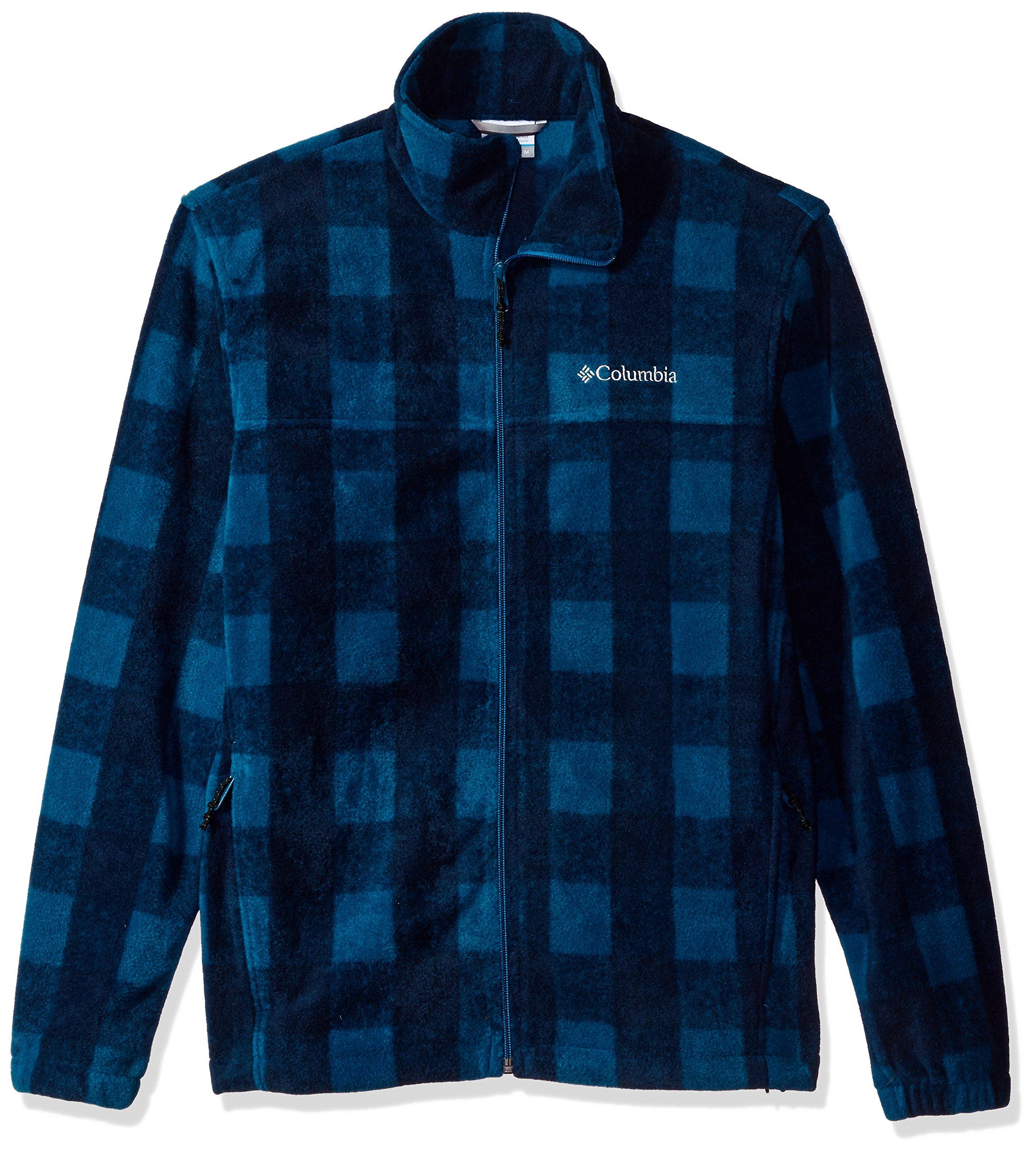 Columbia Men's Cascades Explorer Full Zip Fleece Jacket, Phoenix Blue PLD, Medium by Columbia