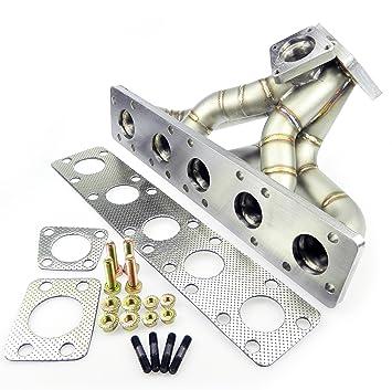 ss321 Acero Inoxidable Turbo - Colector - AUDI 5 Cilindro 2.2t 20 V K24: Amazon.es: Coche y moto