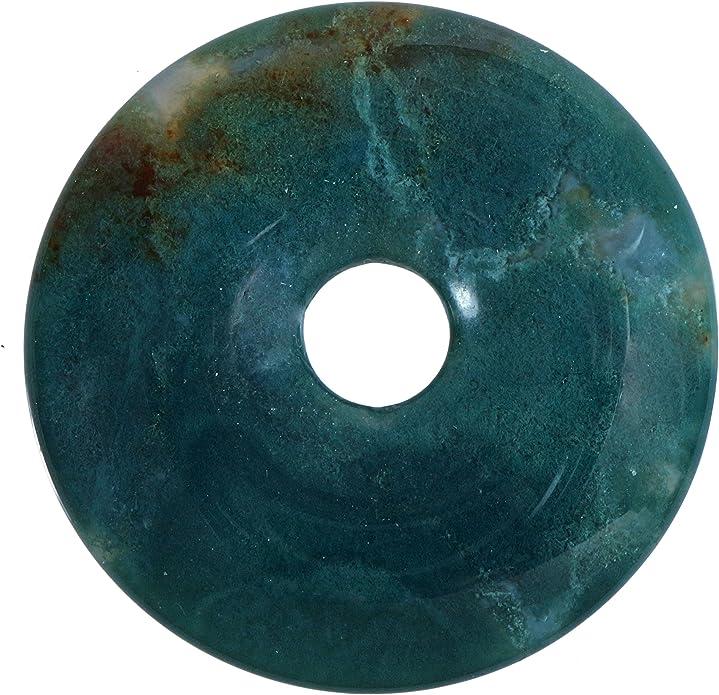 Fuente de vida Plus Charoit piedras preciosas donut di/ámetro 30 mm colgante