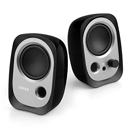 Edifier R12U Stereo Computer Bookshelf Speakers Black