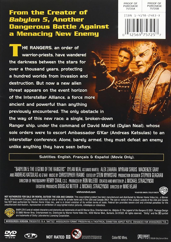 Amazon.com: Babylon 5: The Legend of the Rangers: Michael Vejar, Dylan  Neal, Andreas Katsulas, Alex Zahara, Myriam Sirois, Dean Marshall, Warren  T. Takeuchi ...