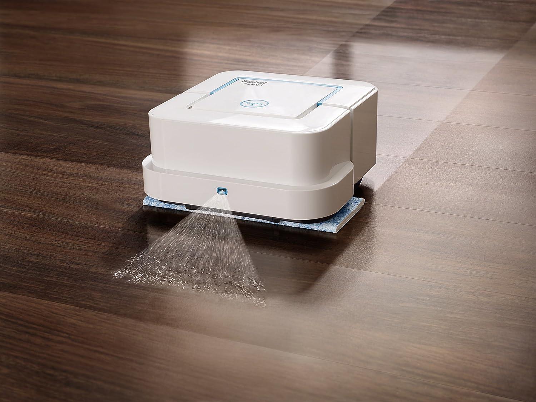 amazoncom irobot braava jet 240 robot mop with warranty home u0026 kitchen - Irobot Braava 380t