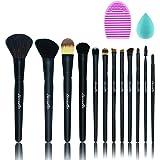 Beautia 12pcs Makeup Brush Set + Bonus 2pcs Gift