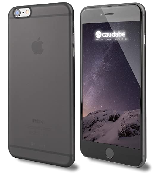 reputable site 53a0d 34496 Caudabe: The Veil iPhone 6/6S (4.7) Premium Ultra Thin Case (Wisp Black)  [Eco-Friendly Retail Packaging]