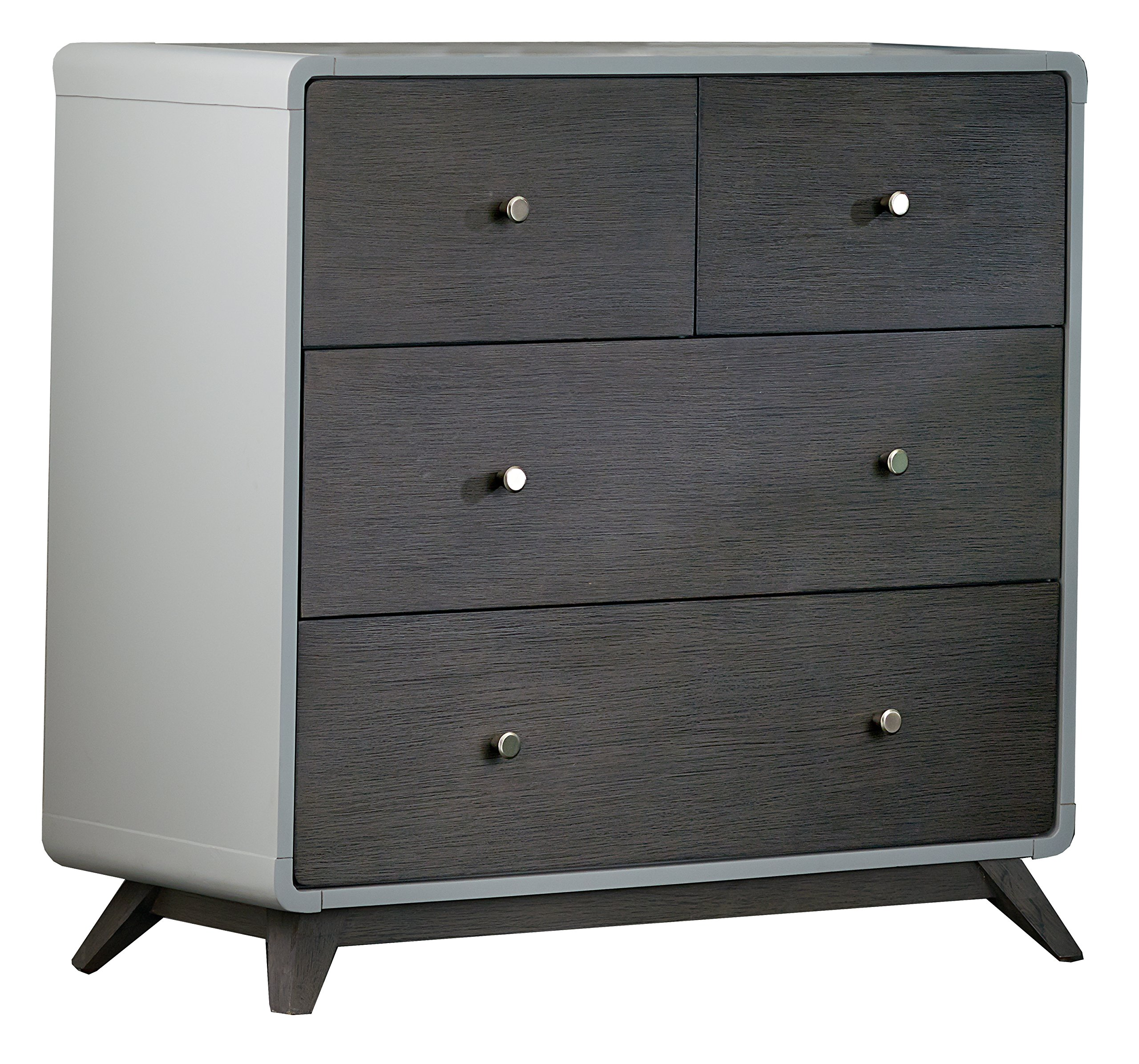 Hillsdale Kids and Teens 7101-784 4 Drawer Chest, Gray