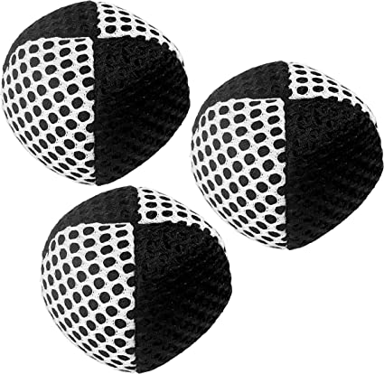 2 Layers of Net Carry Case White - Orange Speevers Juggling Balls for Beginners and Professionals XBalls Set of 3 Lightweight Juggling Balls 2.5 Oz Each Choice of The World Champions 70g