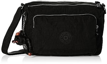 ab562361dfb Kipling Women's Reth Shoulder Bag - Black: Amazon.co.uk: Shoes & Bags
