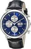 Edox Men's 01120 3 BUIN Les Bemonts Analog Display Swiss Automatic Black Watch