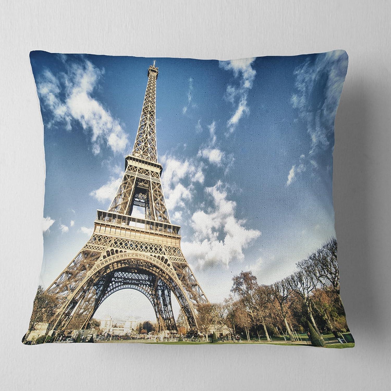 Kess InHouse Famenxt Mandala Pink Blue Illustration 26 x 26 Square Floor Pillow