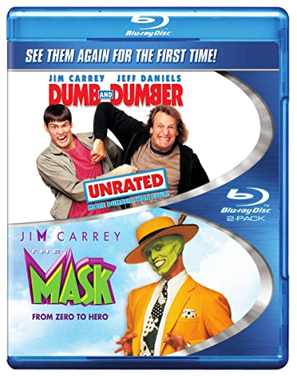 Dumb & Dumber: Unrated / The Mask (Double Feature) [Blu-ray]