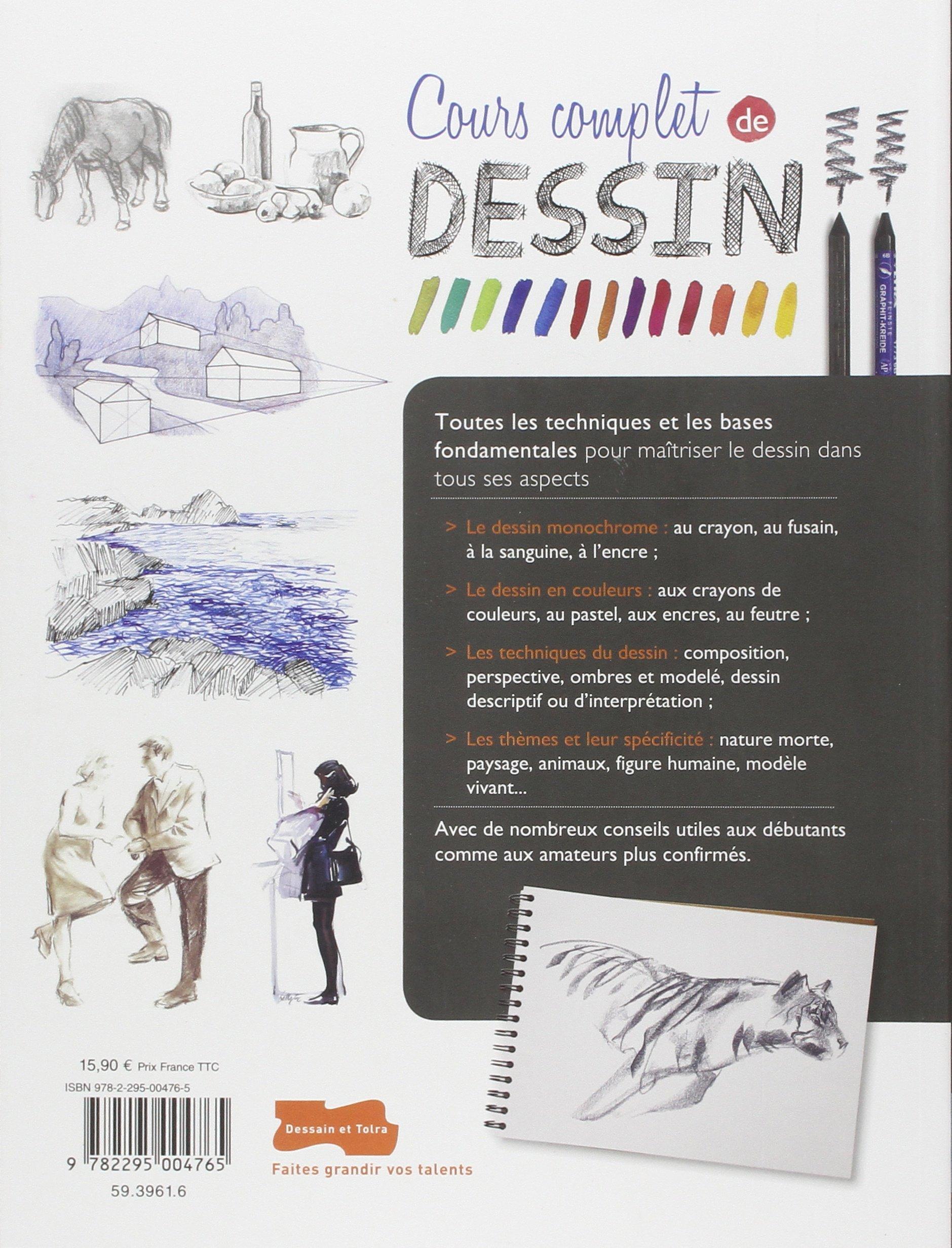 Amazon fr cours complet de dessin np collectif livres