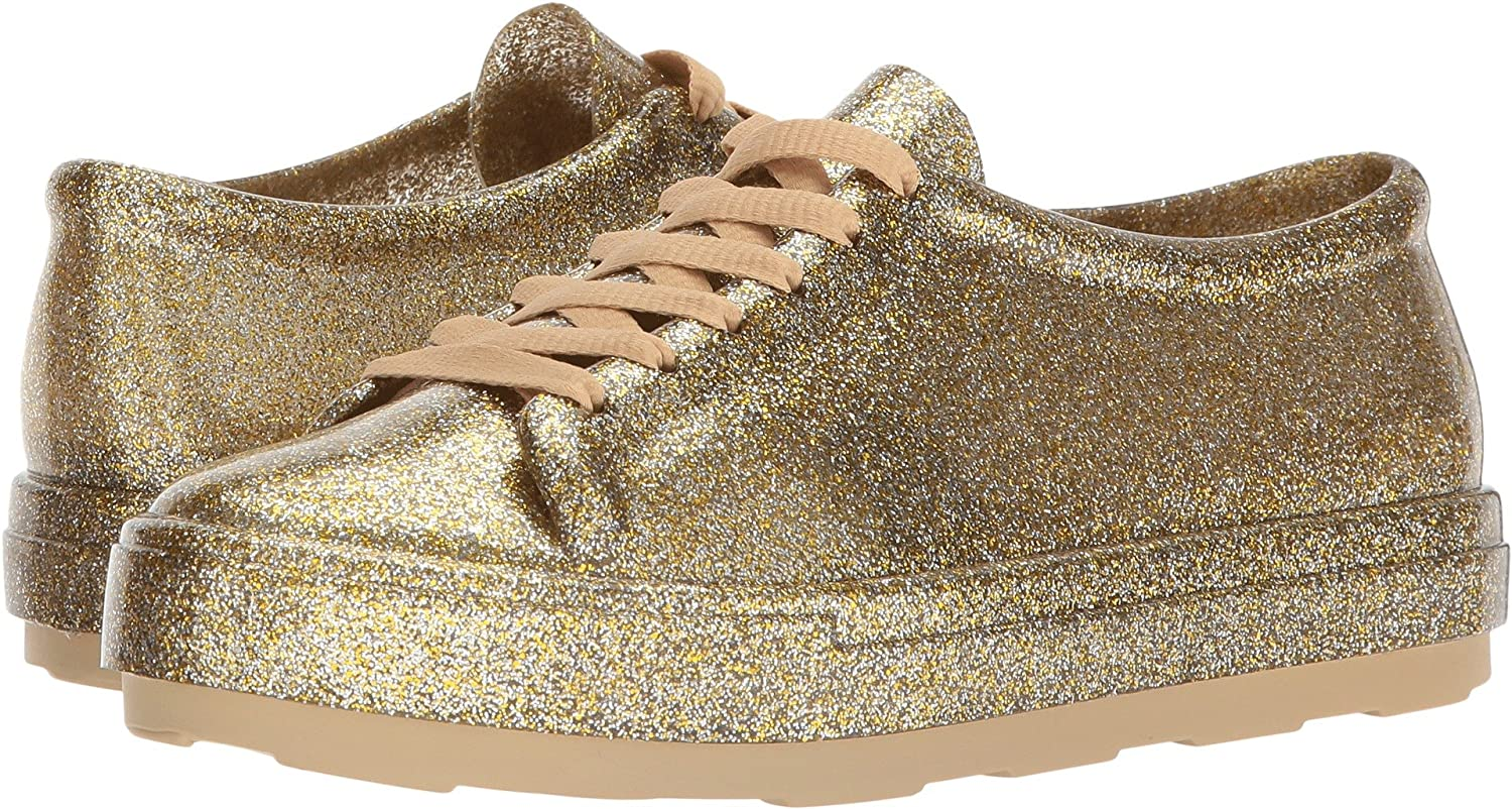 elegant shoes clearance prices another chance Melissa Shoes Women's Be Gold Fushion Glitter 10 M US M