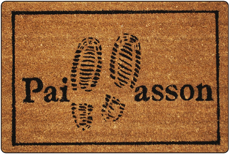 Tapis Déco Paillasson Imprimé Bienvenue Coco/PVC Imprimé 60 x 40 cm Déco Tapis 1740142