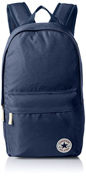 CONVERSE Core Poly Backpack Navy School Bag 10002651-410 - Converse Rucksack fa19d8d221