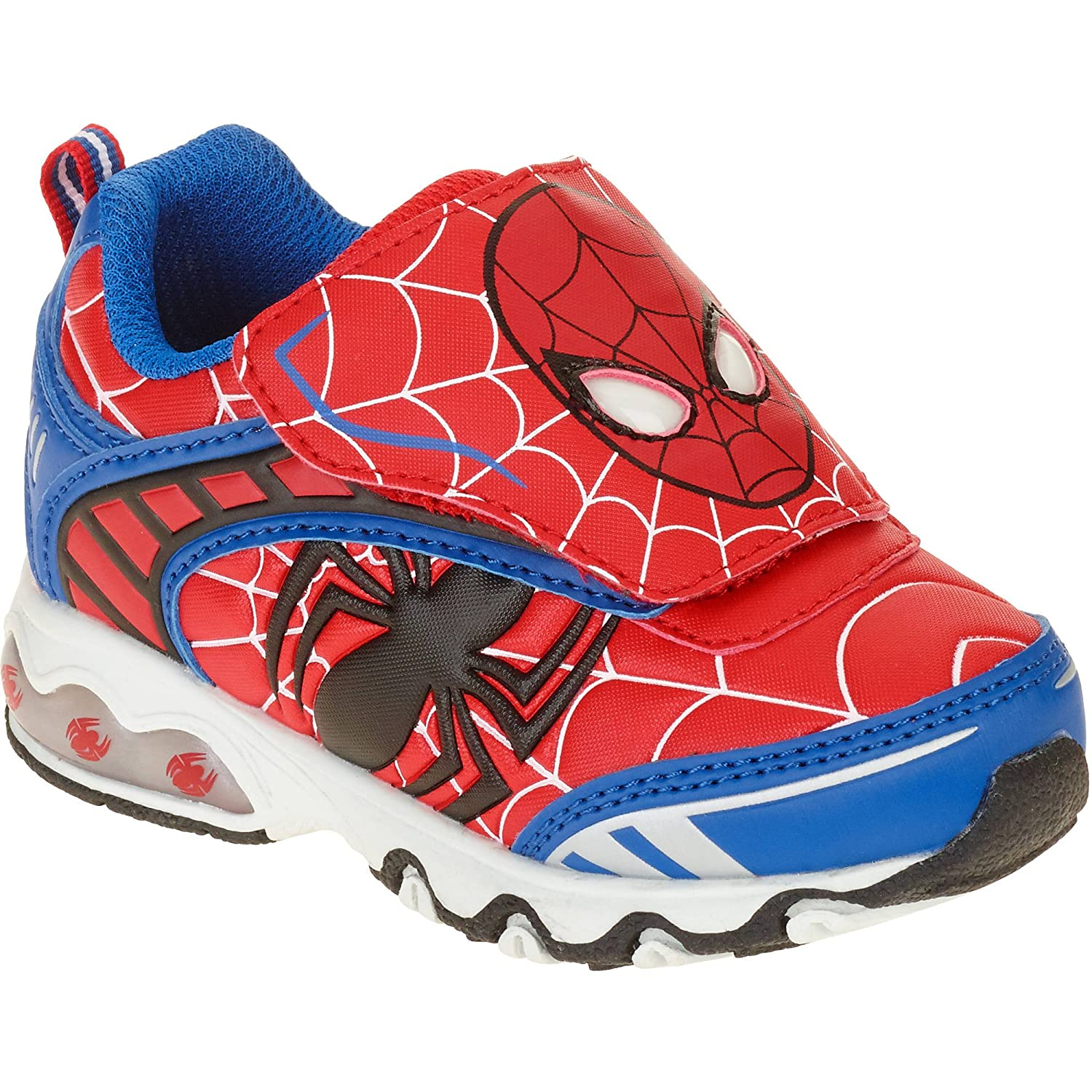 The Ultimate Spider-Man Light-up Shoes Sneakers Toddler's & Boys Sizes