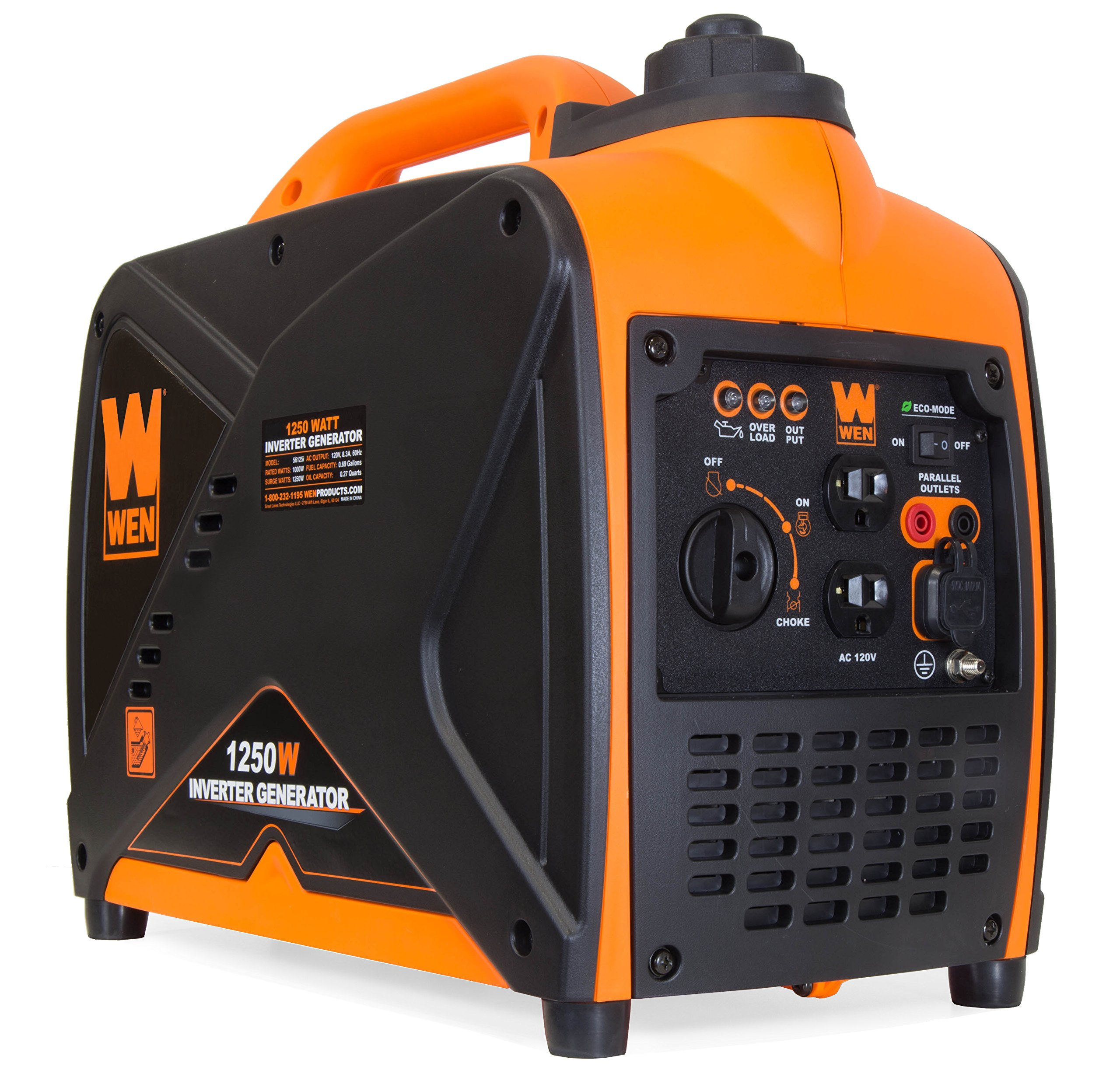 Wen 56125i Super Quiet Portable Inverter Generator,