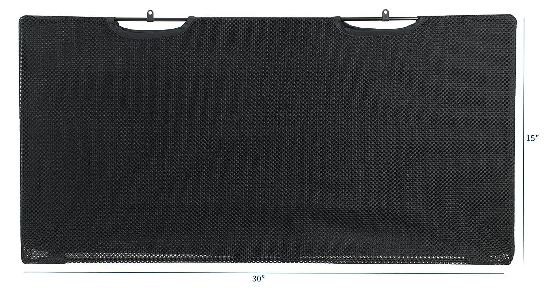 60 Length DESK-SKIRT-60 VIVO Black Under Desk Privacy /& Cable Management Organizer Sleeve Wire Hider Kit Panel System