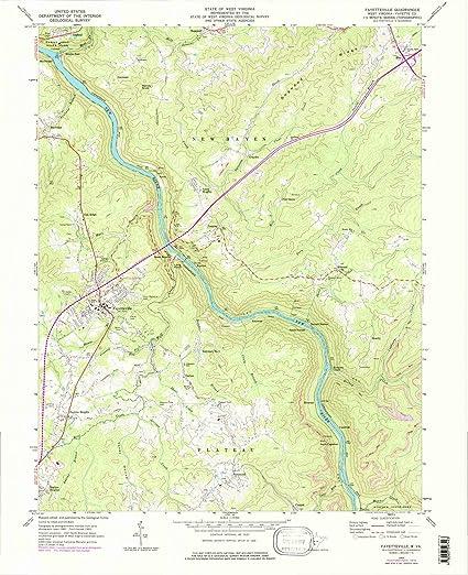 Amazon.com: West Virginia Maps | 1969 Fayetteville, WV USGS ... on minnesota map, new jersey map, florida map, oregon map, georgia map, delaware map, louisiana map, colorado map, utah map, pennsylvania map, alabama map, arizona map, missouri map, texas map, south carolina map, massachusetts map, illinois map, state map, north carolina map, tennessee map, indiana map, wv map, maryland map, california map, arkansas map, new york map, kentucky map, michigan map, ohio map,