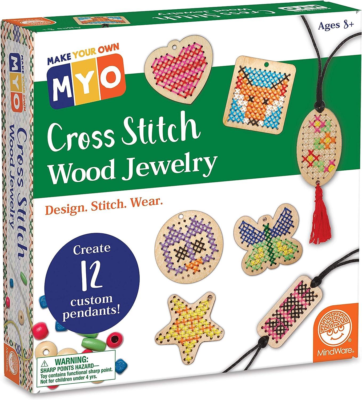 Make Your Own Card Kit Decorate Cross Stitch Craft Starter Set