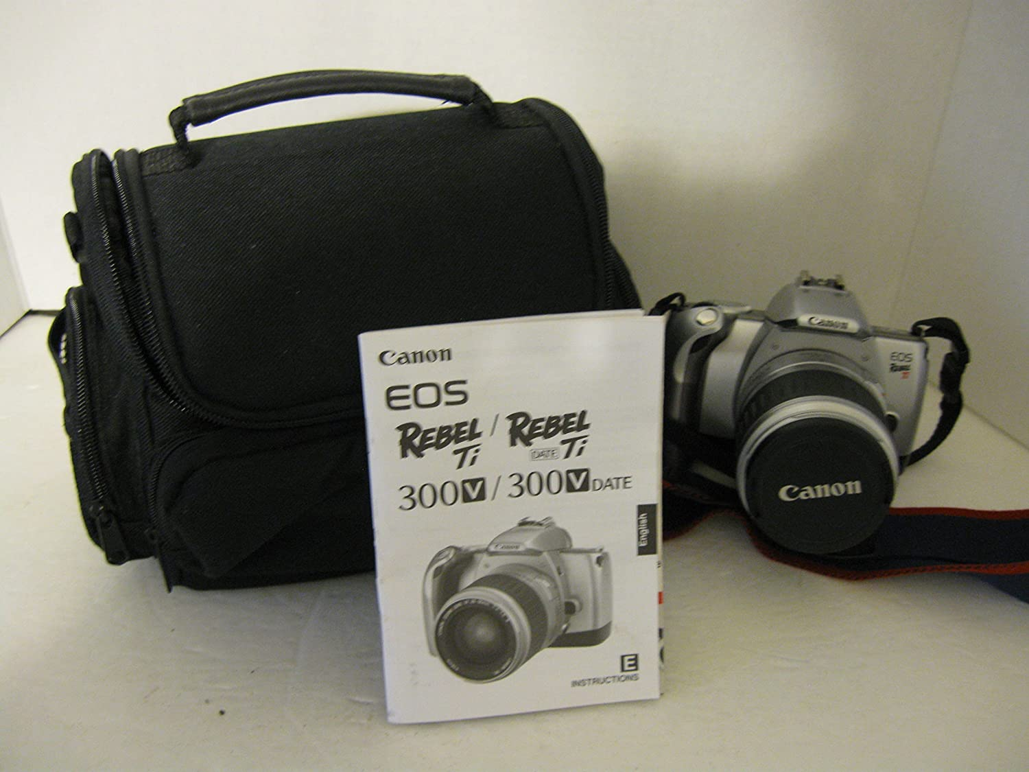 Amazon.com : CANNON EOS REBEL/TI 300V, 28-90 MM ZOOM LENS, WITH CARRYING  CASE : Camera & Photo