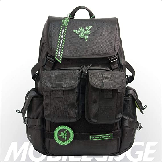 Mobile Edge Razer Tactical Pro 17 Inch Laptop Gaming Backpack