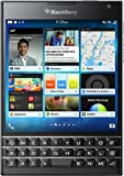 BlackBerry Passport 32GB Factory Unlocked (SQW100-1) GSM 4G LTE Smartphone - Black (International Version, Blackberry OS)
