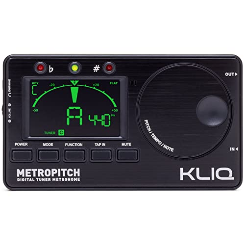 KLIQ MetroPitch—Metronome Tuner for All Instruments